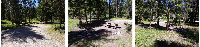 Hunter Peak Campsite 2 OverviewHunter Peak Campsite 2
