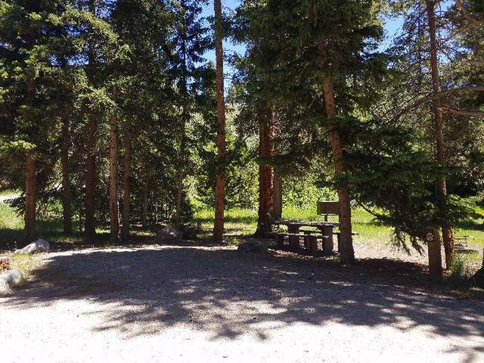 Hunter Peak Campsite 3 Front
