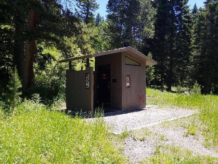 Hunter Peak Camp Toilet