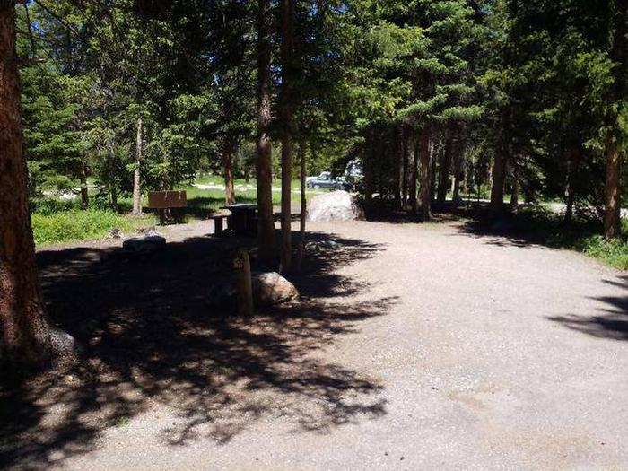 Hunter Peak Campsite 7 Front