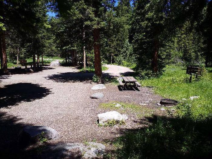 Hunter Peak Campsite 8 Back