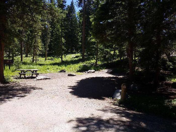 Hunter Peak Campsite 8 Front