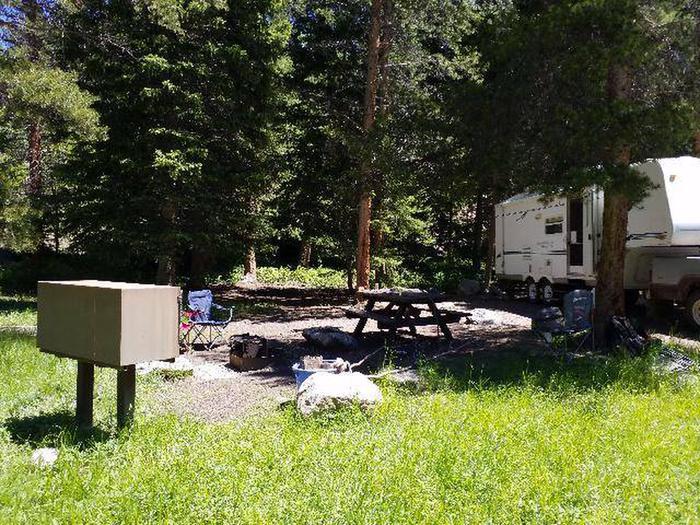 Hunter Peak Campsite 9 Side