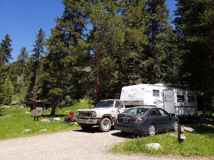 Hunter Peak Campsite 9 Front