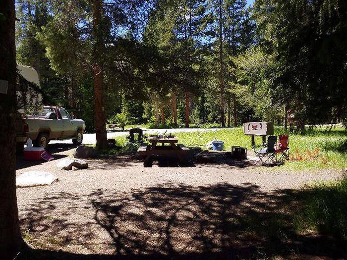 Hunter Peak Campsite 9 Back