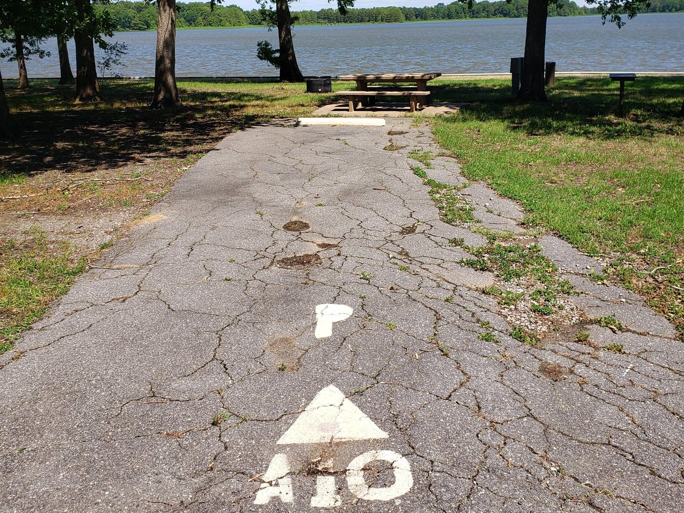 !50 yards to Shower/Restroom. 100 Yards to Lake Merrisach Access.A-10