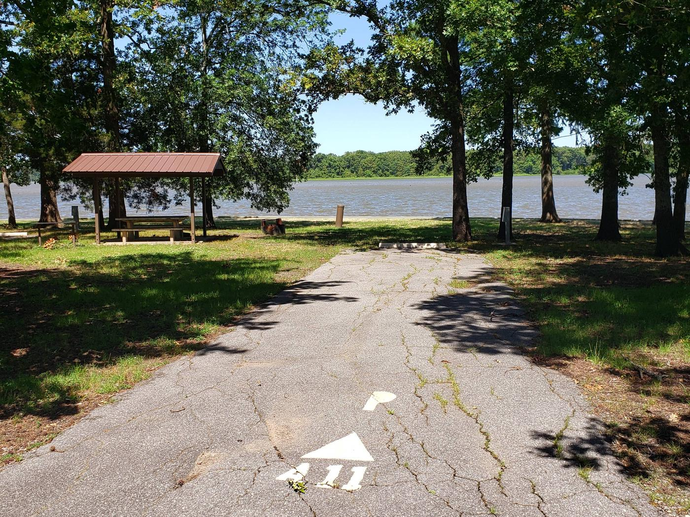 150 yards to Shower/Restroom. 100 Yards to Lake Merrisach Access.A-11