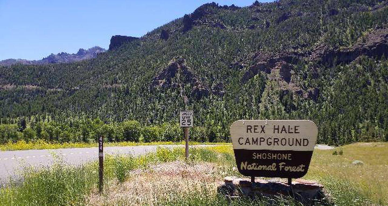 Rex Hale Campground View