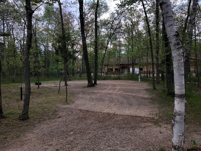 Campsite #73 (front view)Campsite #73
