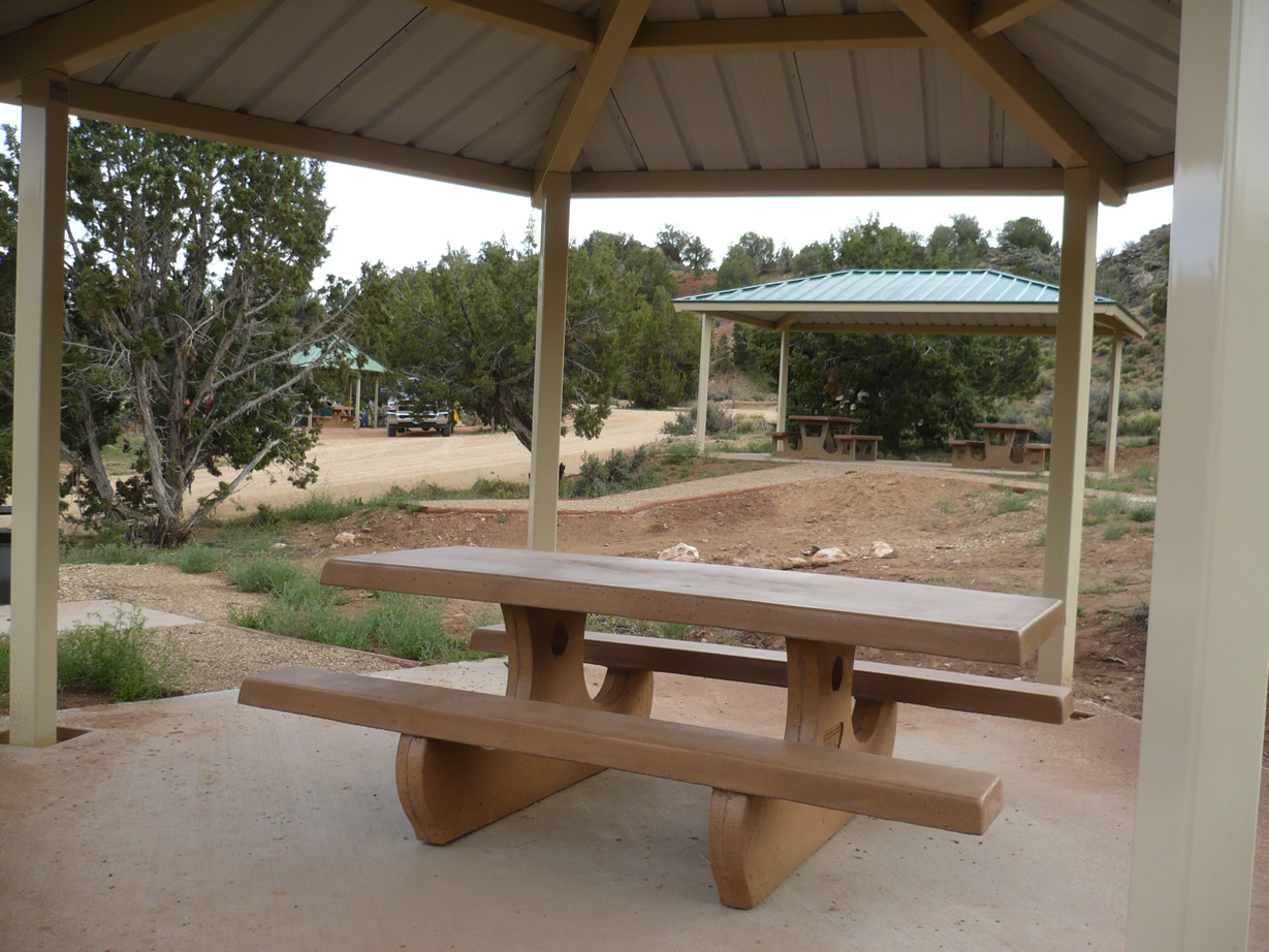 Picnic Tables at Stateline Campground
