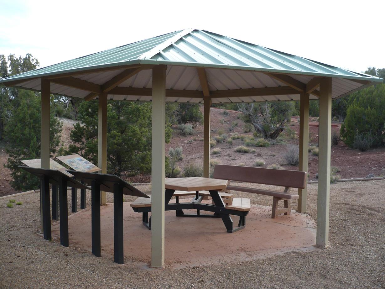 Interpretive display about the Arizona Trail