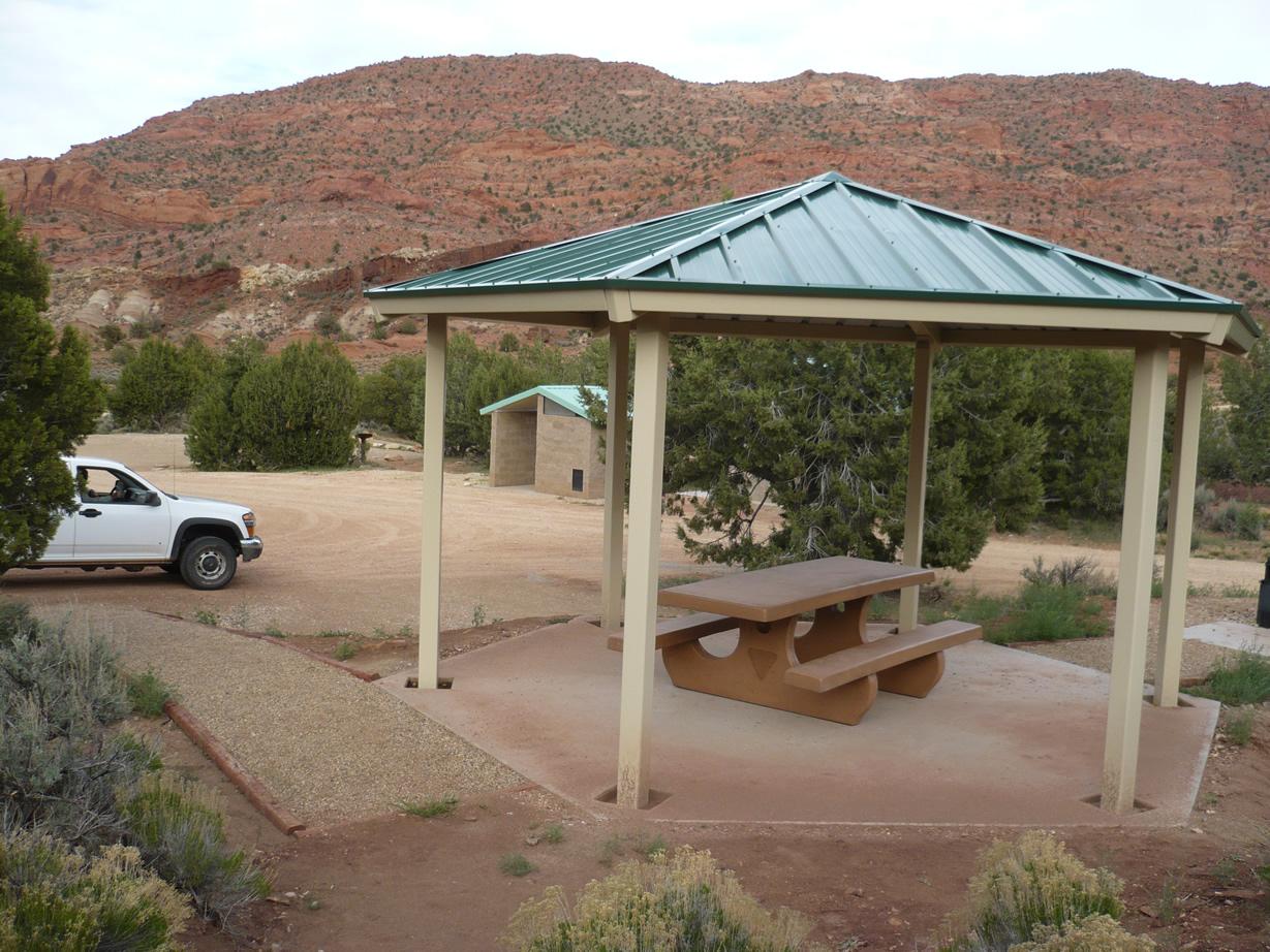 Campsite at Stateline Campground