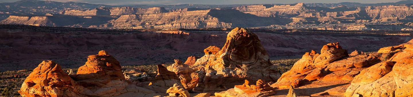Coyote Buttes SouthOverlooking the Paria Canyon-Vermilion Cliffs Wilderness.