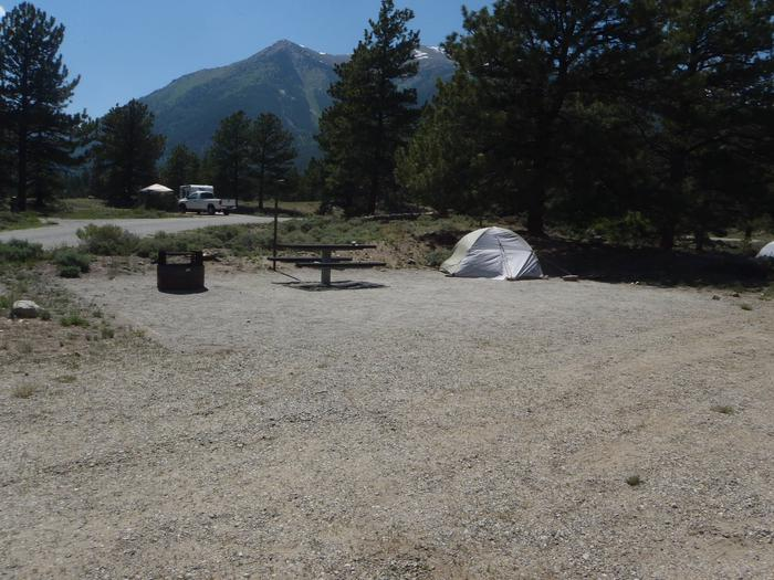 Whitestar Campground,  site 8 view