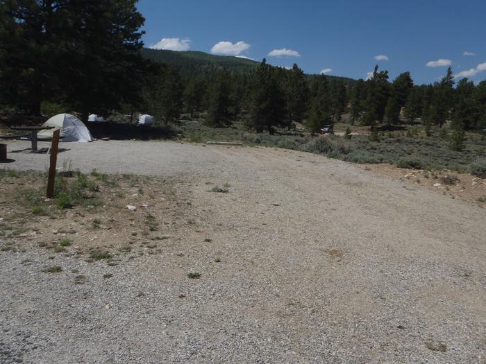 Whitestar Campground,  site 8 parking