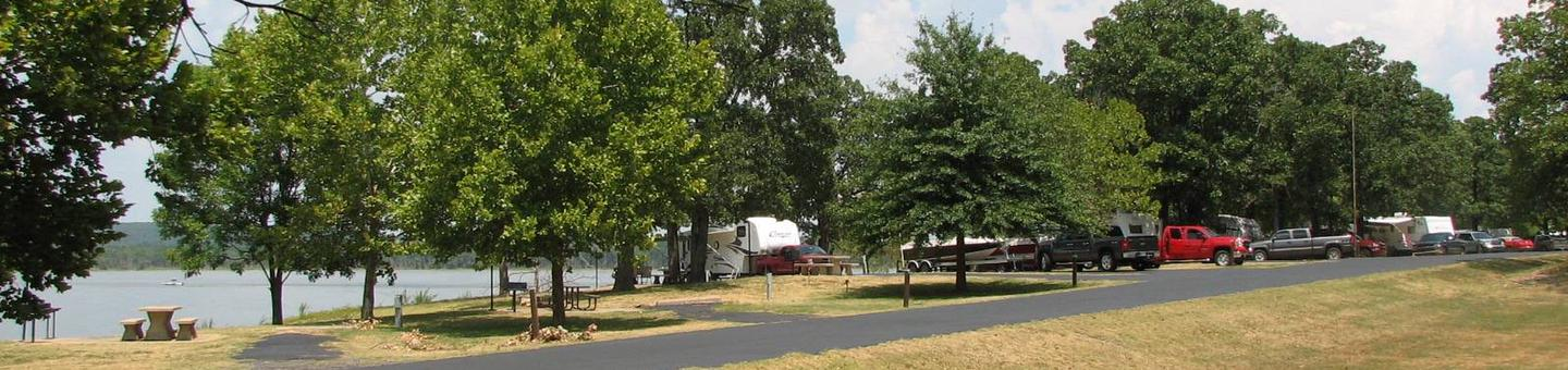 Wildwood offers a variety of back in and pull through campsites.Wildwood offers partial to full shade on most campsites.