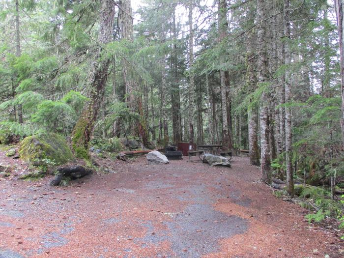 Driveway and Campsite