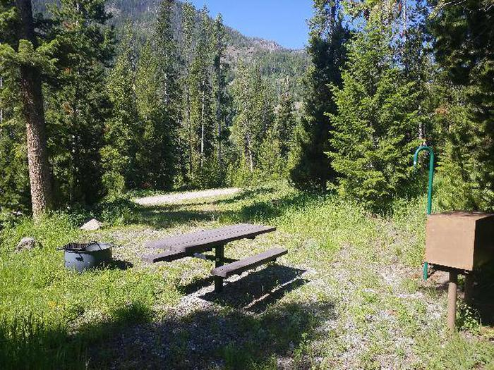 Threemile Campground Campsite 1 - Back View