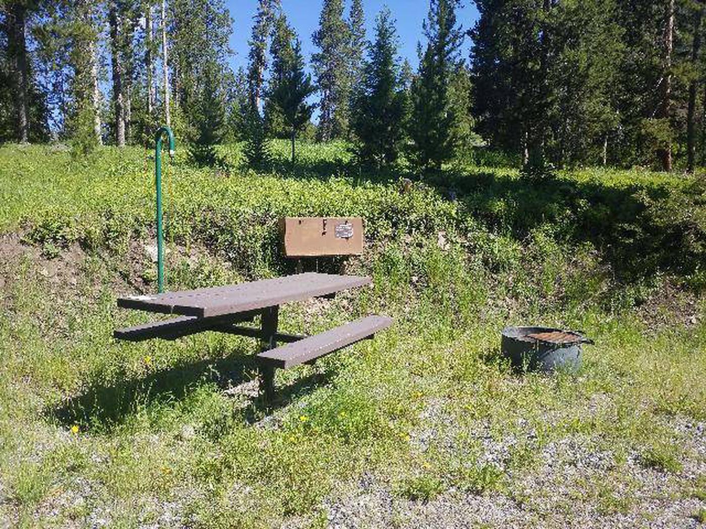 Threemile Campground Campsite 2 - Picnic Area