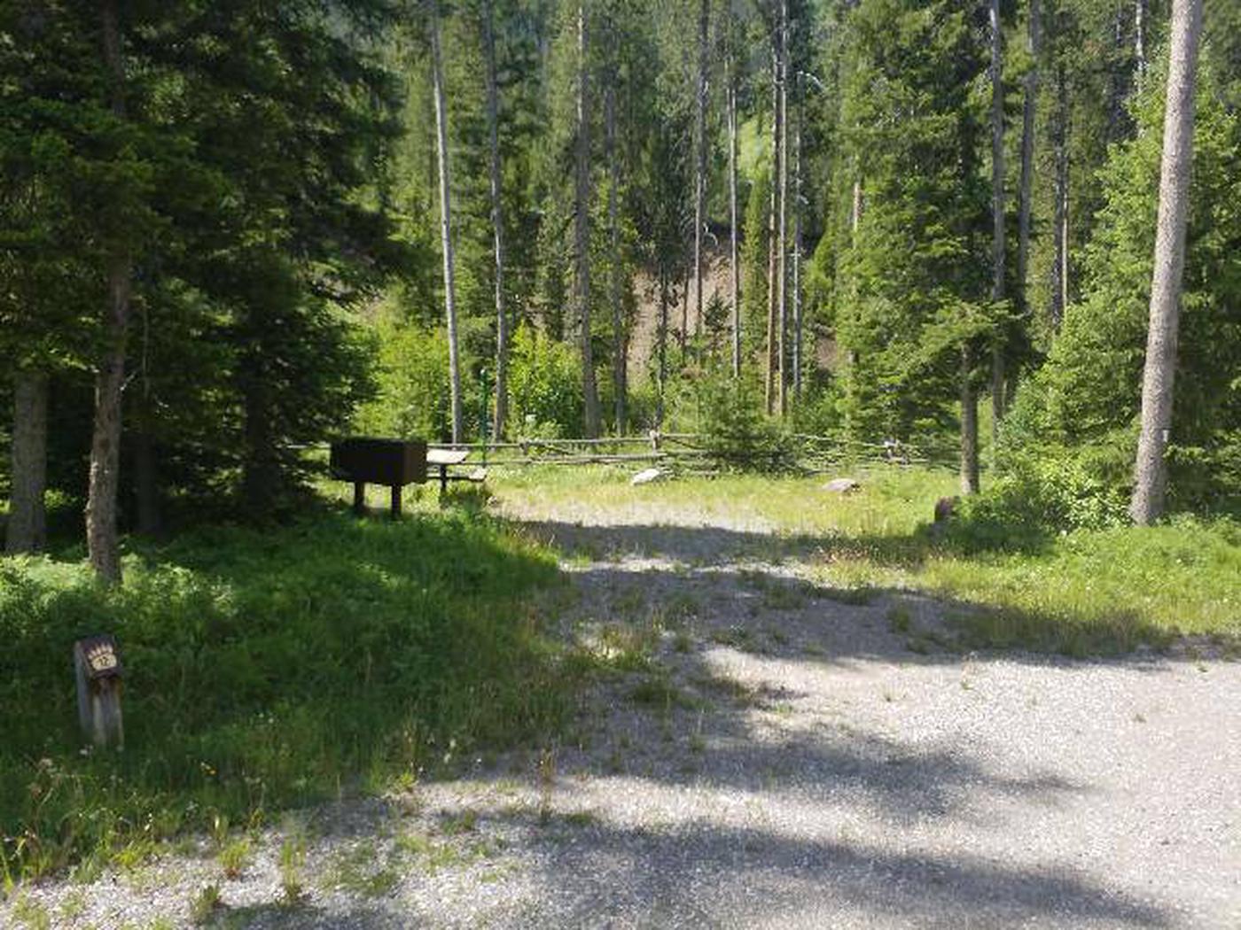 Threemile Campground Campsite 12