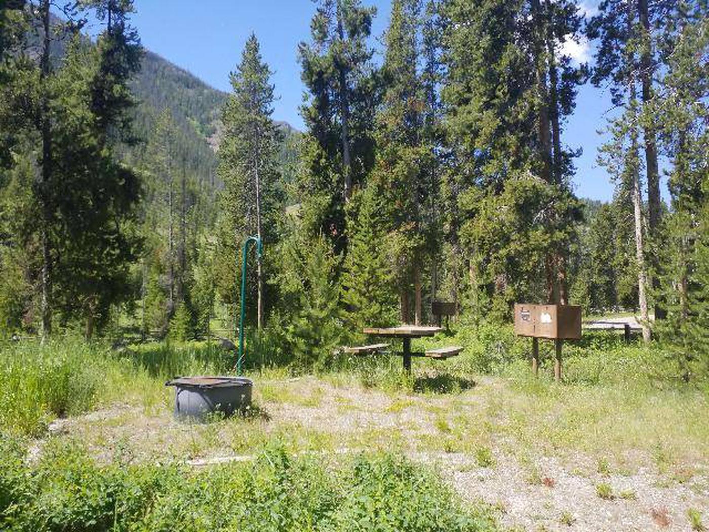 Threemile Campground Campsite 18 - Picnic Area