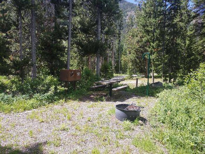 Threemile Campground Campsite 19 -  Picnic Area