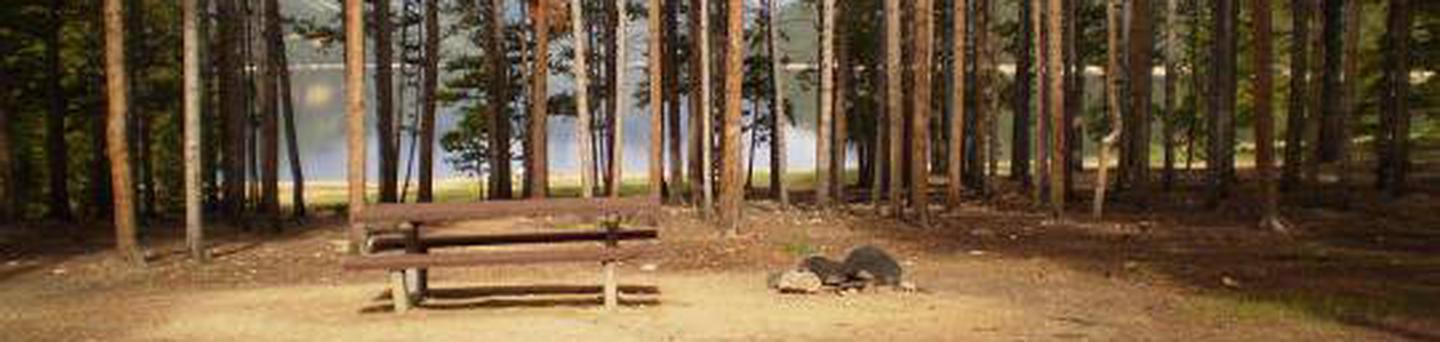 Baby Doe Campground, site 4