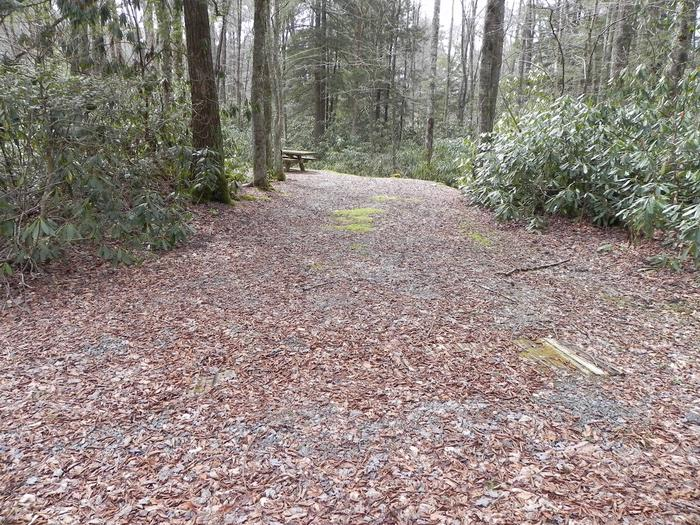 Driveway to Site 22