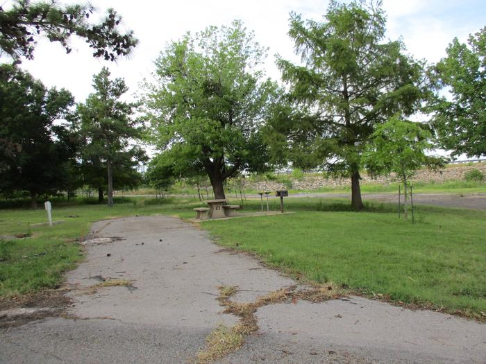 Site 8 - TFSSite 8 is located near the emergency exit off highway 51.  Trees help to block road traffic noise.