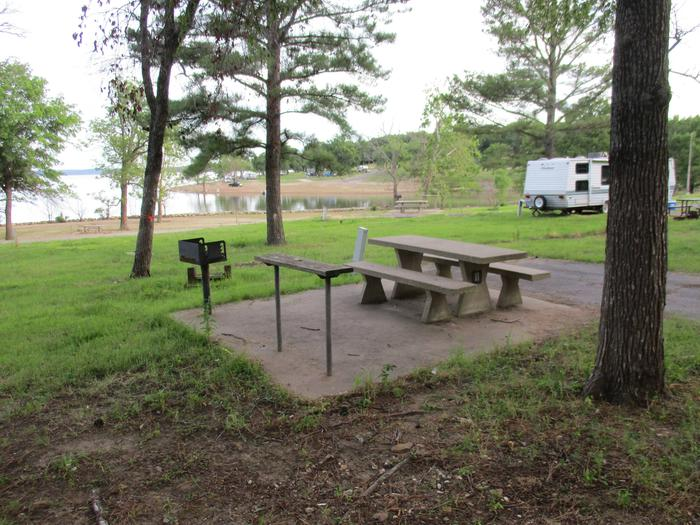 TFS - 11Site 11 is within a short walking distance of a gravel bar that many campers use for swimming.