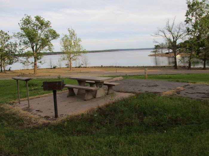 Site 17 - TFSSite 17 offers a great lake view, but offers limited shade.