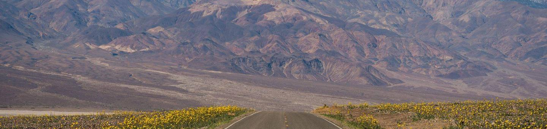 Death ValleyRoad through Death Valley National Park