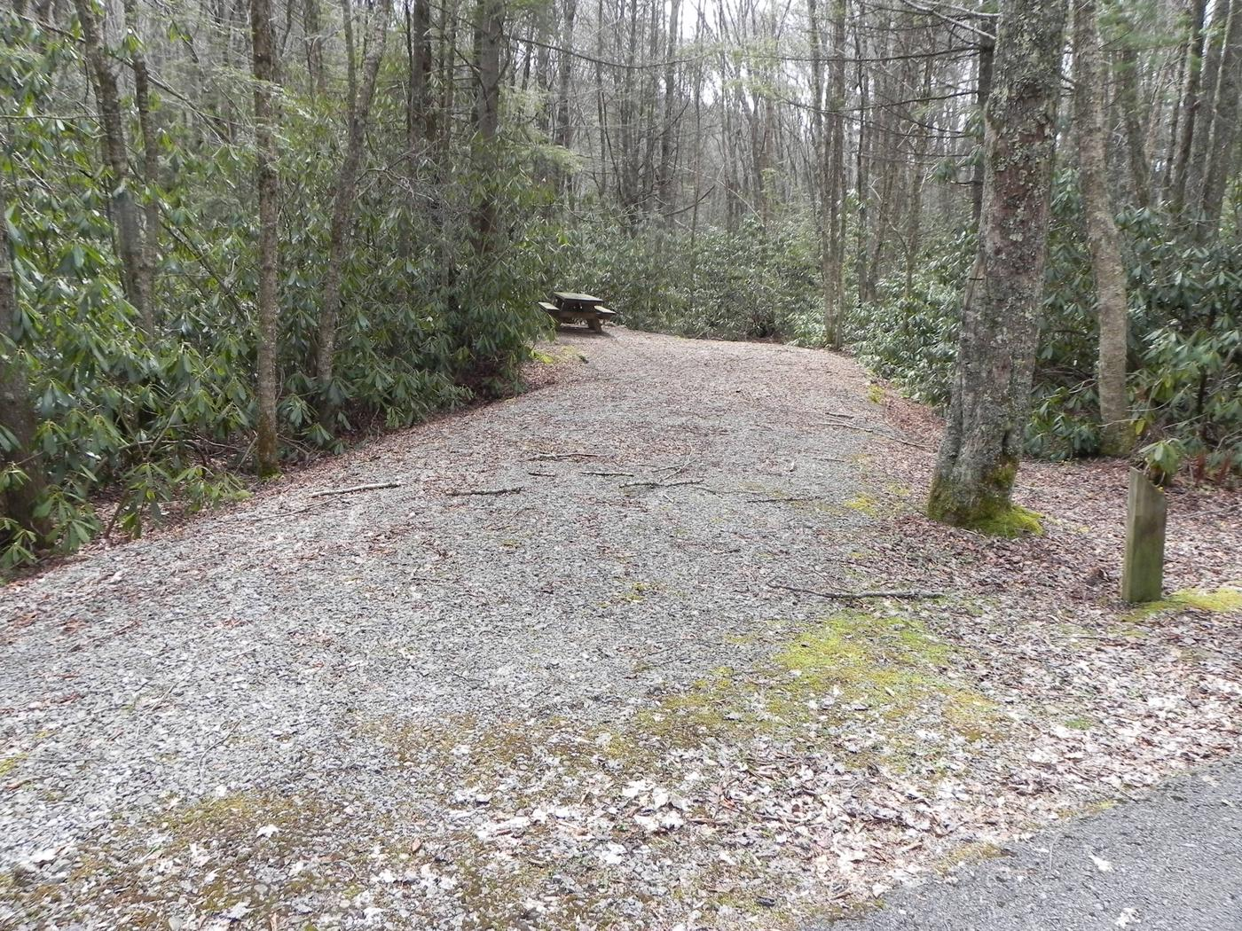 Driveway to Site 24