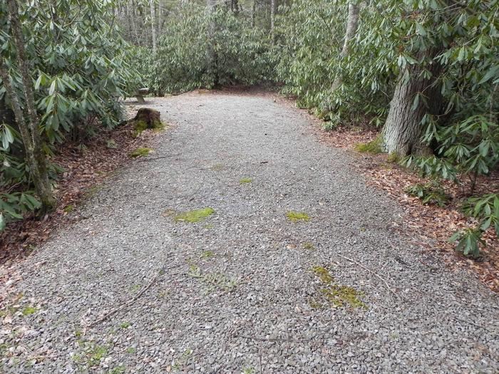 Driveway to Site 28
