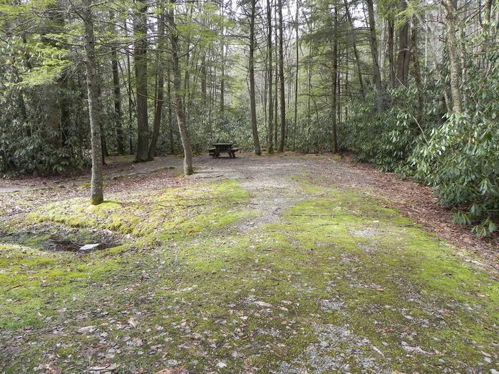 Driveway to Site 31