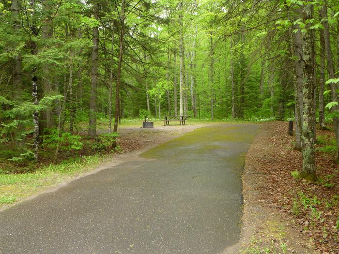 Lake Ottawa Campground Site 24