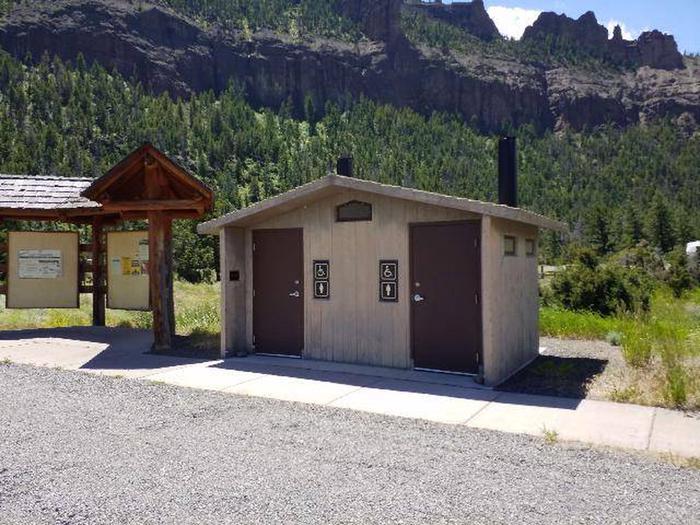 Rex Hale Campground Restrooms