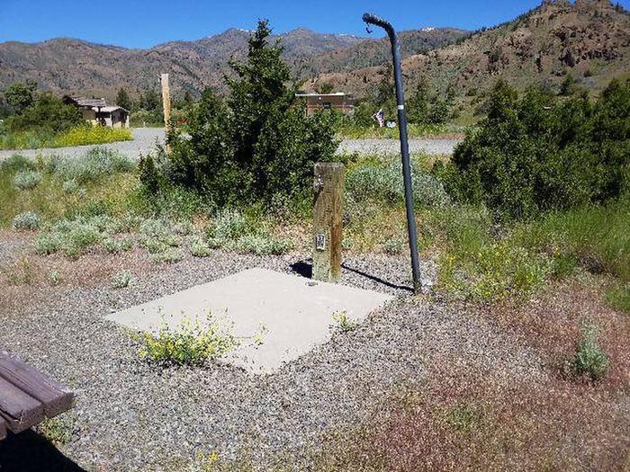Rex Hale Campground Water