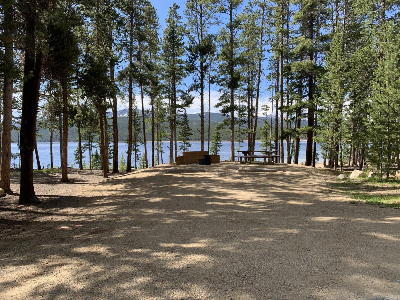 Molly Brown Campground, site 6 view