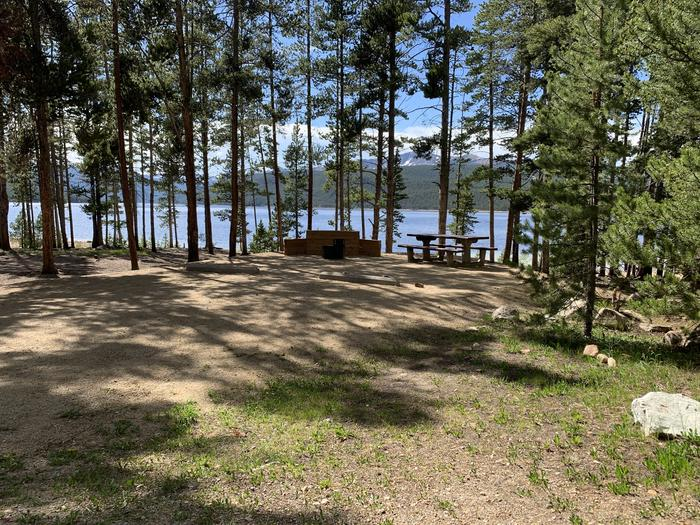 Molly Brown Campground, site 6 parking 2