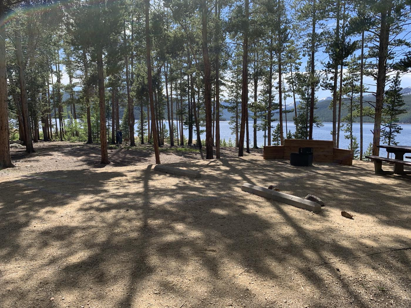 Molly Brown Campground, site 6 view 3