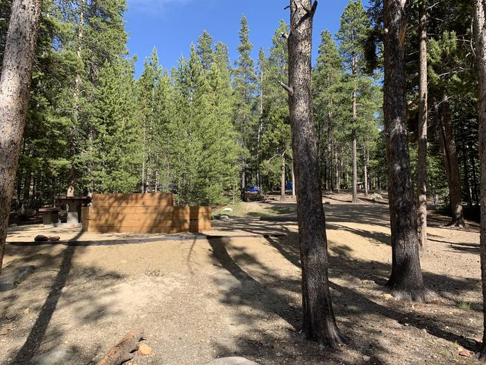 Molly Brown Campground, site 6 side view