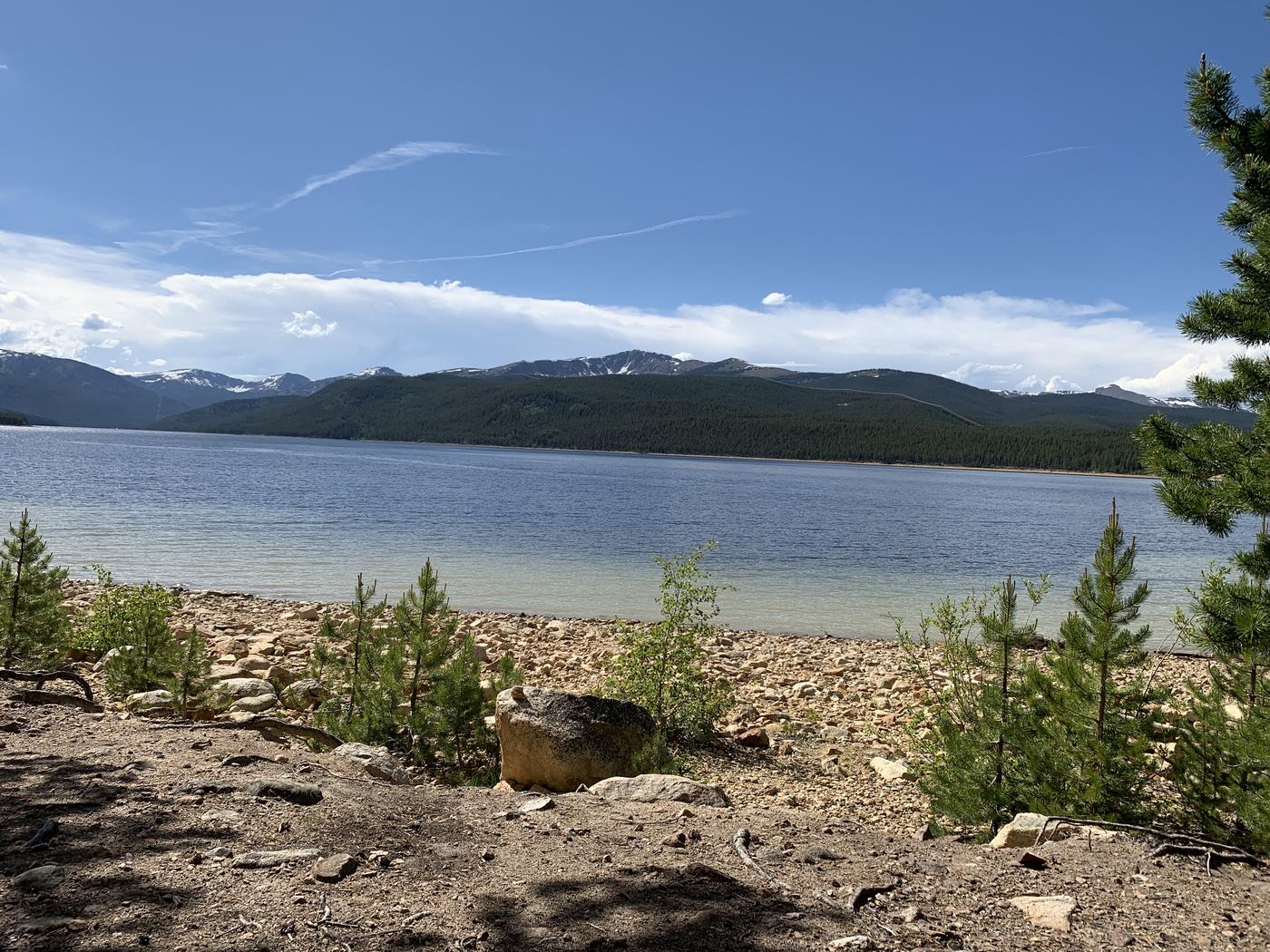 Molly Brown Campground, site 6 lake view