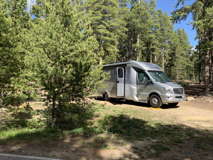 Molly Brown campground, site 7 parking 2