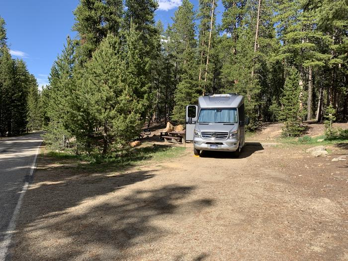Molly Brown campground, site 7 parking 3
