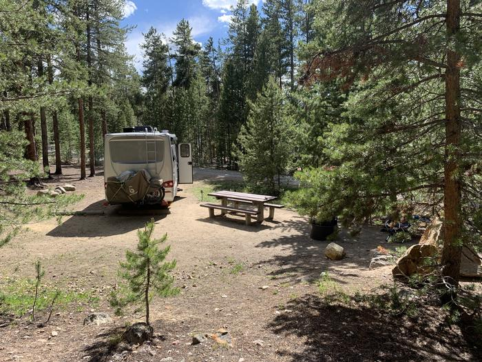 Molly Brown campground, site 7