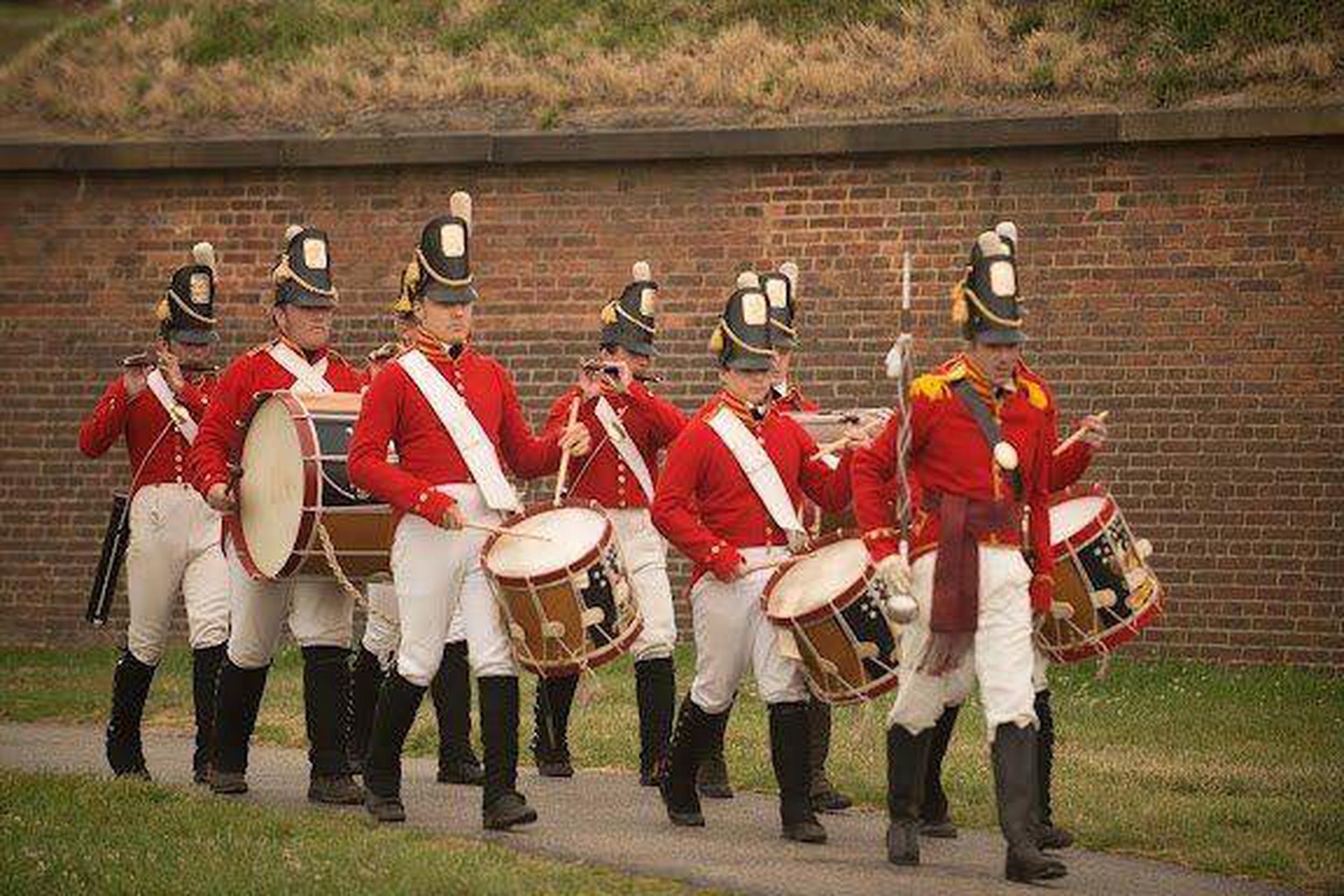 Fort McHenry GuardFife and Drum Corps at Fort McHenry