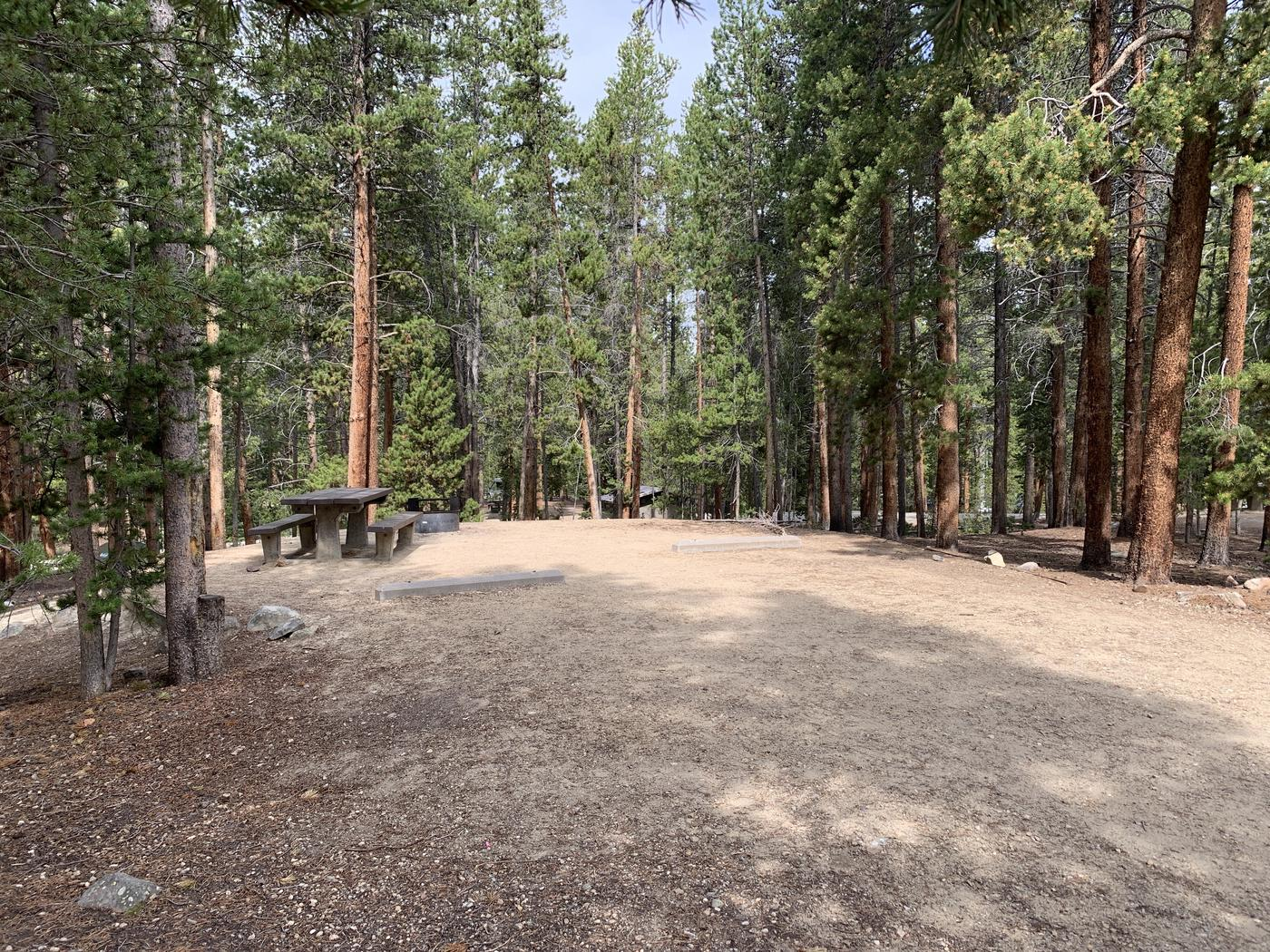 Molly Brown Campground, site 26 parking 2