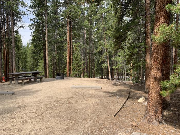 Molly Brown Campground, site 26 parking 3