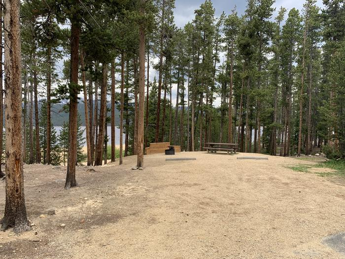 Molly Brown campground, site 8 parking 2